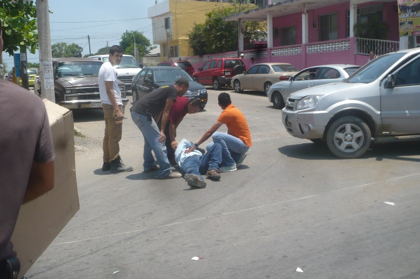 El accidente fue en Madeo y Pénjamo