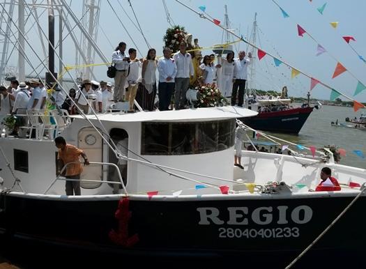 Particparon en los festejos los alcaldes de Pánuco, Tampico y Cd. Madero.