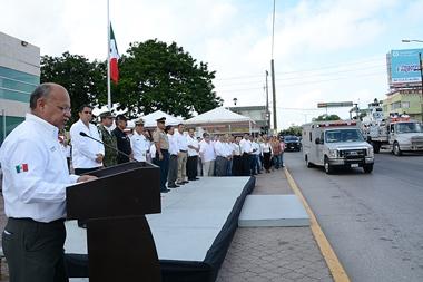 El alcalde Mario Neri Castilla habló sobre coordinación entre instituciones federales y estatales.