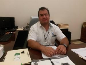 Carlos Castro Torres, administrador SAT Tampico