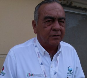 Jorge Eduardo Morris Delgado, Gerente General de Comapa Altamira.