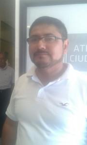 """Martin Luna Avalos, Coordinador del programa """"Cruzada Contra el Hambre"""" ."""
