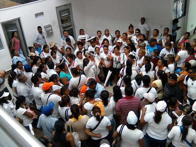 0510- Protesta en el Ayuntamiento de Cd Madero