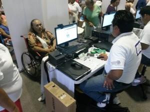 Se da atención especial a discapacitados y Adultos Mayores