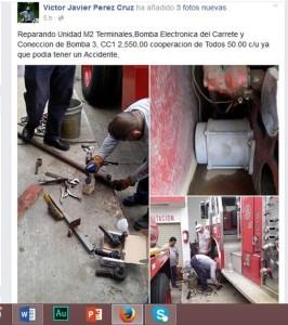 1811- Bomberos Altamira piden ayuda a traves de Facebook