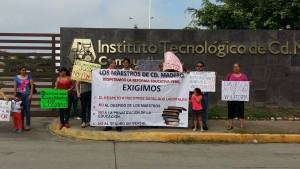 2111- Protesta de Maestros en Ciudad Madero
