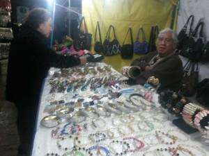 Algunos comerciantes abandonaron antes de que acabara la Feria.