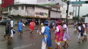 0411- Danzantes a la Virgen de Guadalupe en Tampico