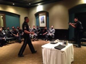 1012- Elementos de Gendarmeria Nacional practican curso Tamaulipas