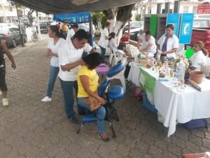 Se instalaron a un costado de Presidencia Madero