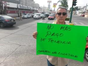 2212- Protesta contra pago de tenencia vehicular en Madero
