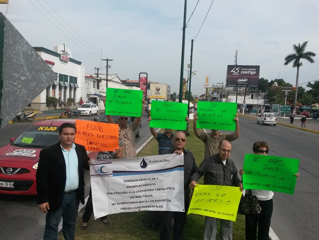 sur de tamaulipas exigen se elimine el cobro de tenencia en tamaulipas
