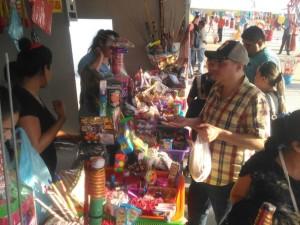 2612- Cohetones Playa Miramar Madero