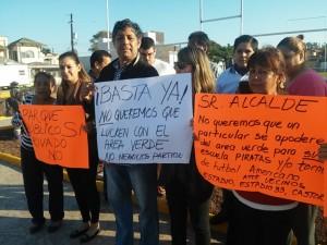 manifestacion de vecinos de la colonia estadio  (1)