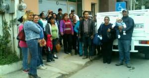 protestas contra sedesol 2