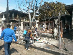 trabajos-en-incendio-de-taller-mecanico-de-ciudad-madero